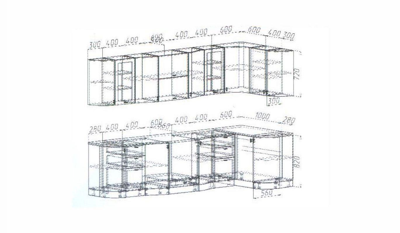 Кухня Вена размеры